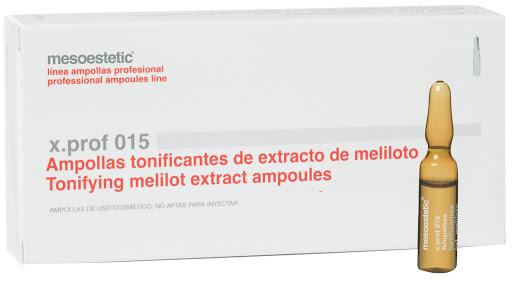Mesoestetic - Ampolletas Tonificantes de Meliloto 10Ampolletas