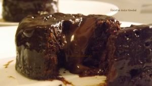 Coulant de Chocolate al Microondas en 1 MINUTO