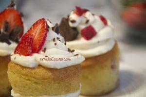 CREMA DE QUESO Y NARANJA para rellenar o decorar Cupcakes