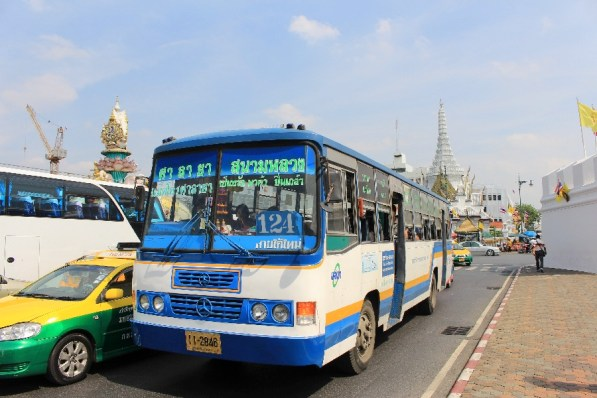 Les bus de Bangkok.