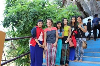 Les sourires des locaux qui n'hésitent pas à poser avec les touristes!
