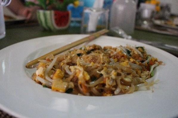 Un Pad'Thaï, le plat national!