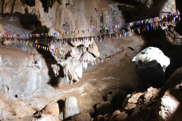 La première grotte.