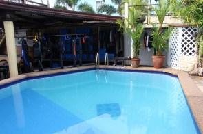 La piscine à Mindoro
