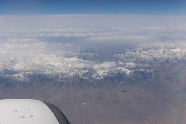 Au dessus de la Chine!