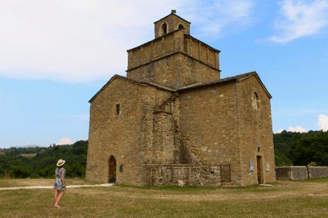 L'église de Comps