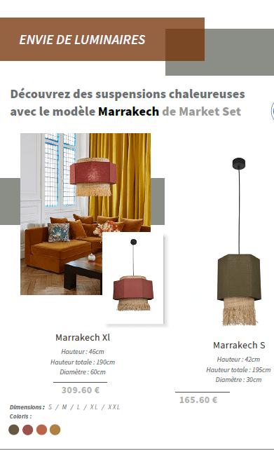 Suspensions market set fabriquées en France