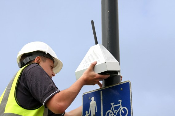 AQMesh Luftmesssystem Installation