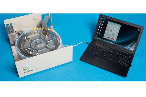 Brechtel BMI Modell AUtocol am Laptop angeschlossen