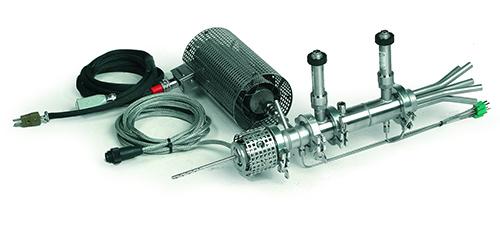 Dekati FPS Verdünnungssystem Heatedsetup_Envilyse