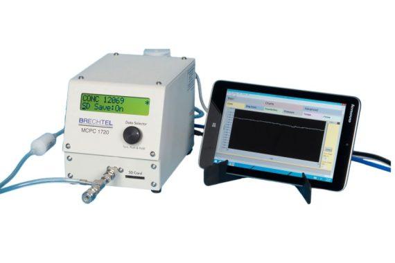 Brechtel Kondensationspartikelzähler MCPC 1720 mit Tablet