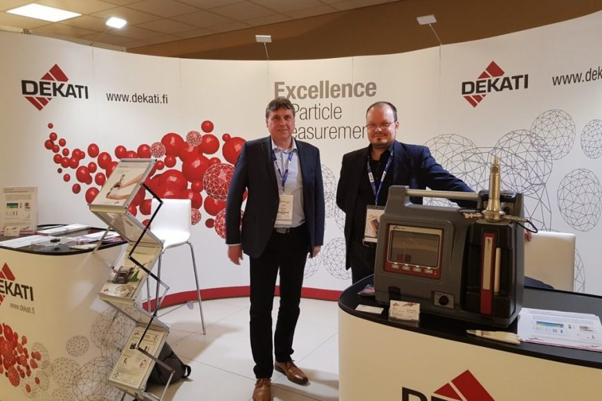 MAY 2018 – Thank you for your visit at the Dekati exposition booth