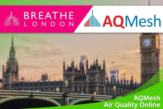Juli 2019 – Luftqualität online mit AQMesh