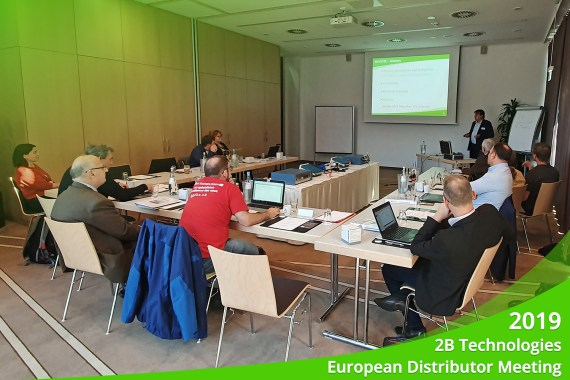 October 2019 – 2B Technologies European Distributor Meeting 2019, Essen