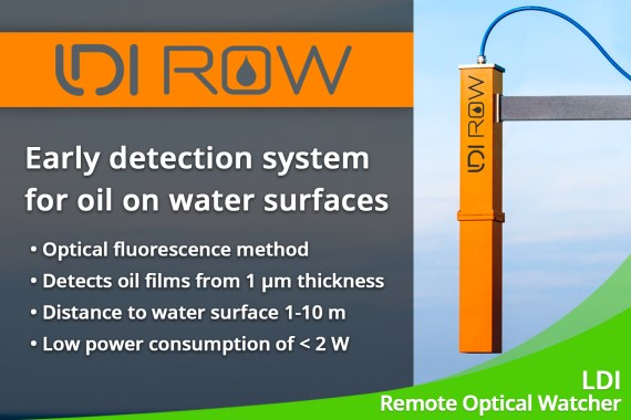 February 2020 – Oil detection on water surfaces with the LDI ROW