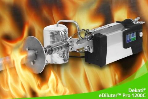 Juli 2020 – Heiß, heißer, Dekati® eDiluter™ Pro 1200C
