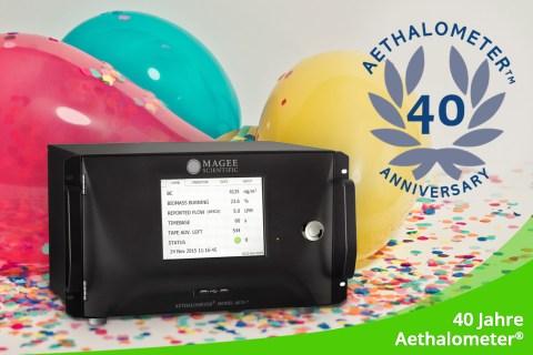 November 2020 – 40 Jahre Aethalometer<sup>®</sup>