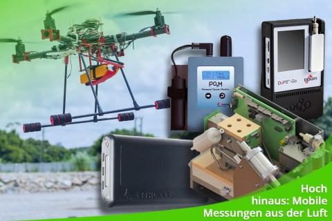 August 2021 – Hoch hinaus: Mobile Messungen aus der Luft