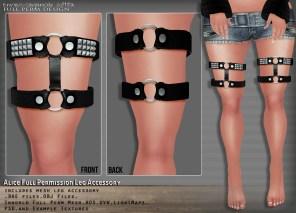 Alice Leg Accessory Vendor