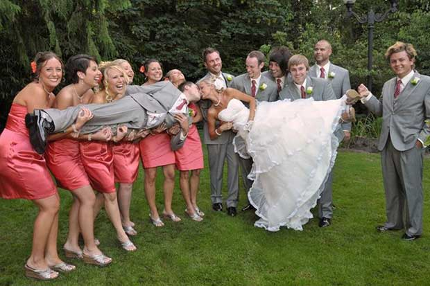 9 Tips To Photograph A Big Bridal Party (for Wedding