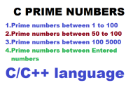 C Program to Display Prime Numbers Between Two numbers