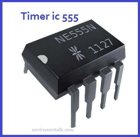 555 timer ic Pin diagram Working and uses