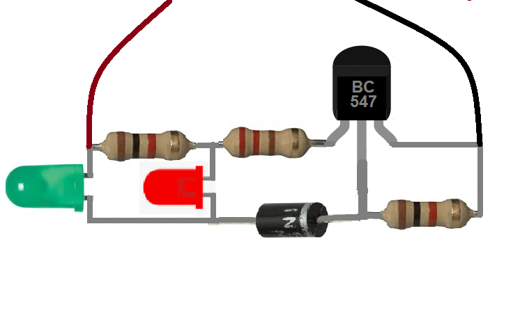 3.7V battery Charge Indicator