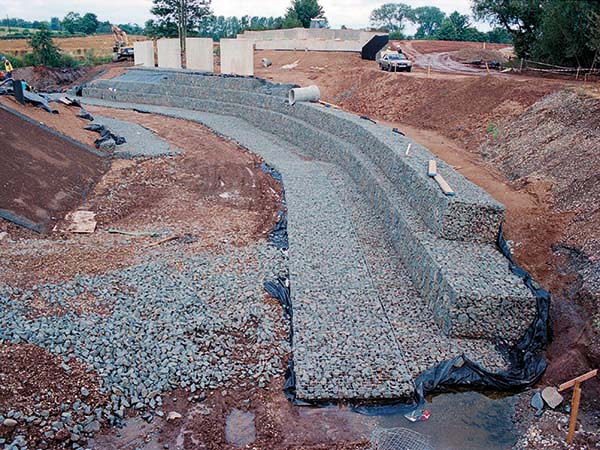 Scour Protection Apron Gabion Mattresses Erosion Protection