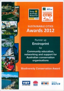 KABNSW Community Education Award 2012