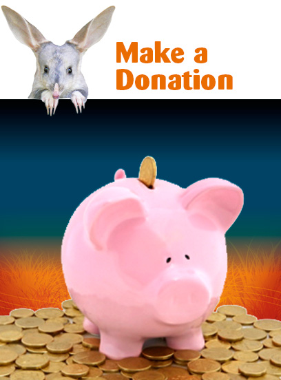 Make a donation to Save the Bilby Fund