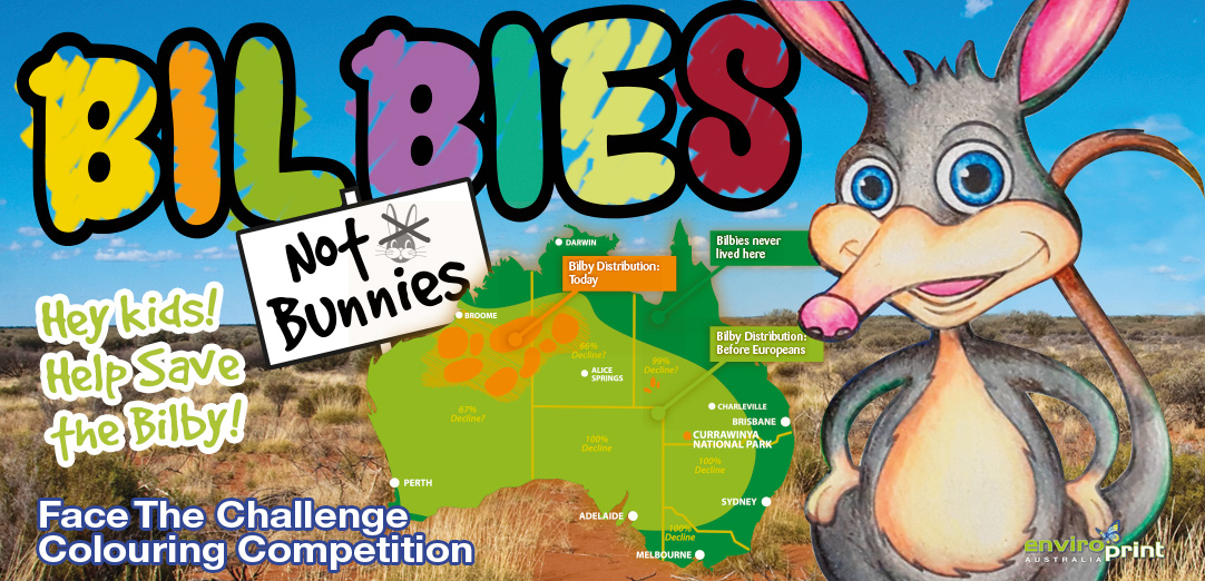 Easter Bilby Colouring Competition
