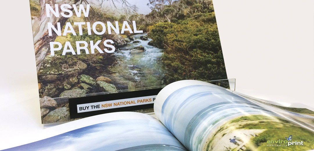 National Parks 50th Year Book Printing