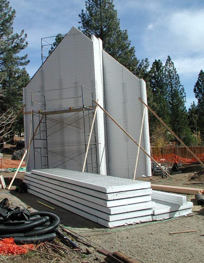 West wall takes shape