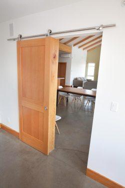 Barn Door in Study