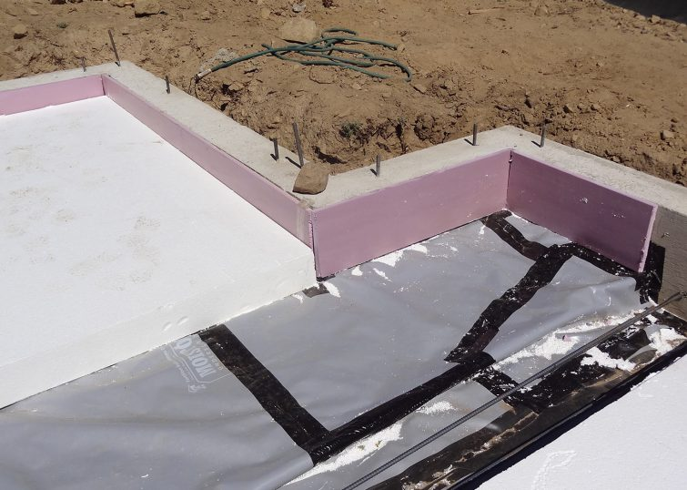 Foundation wall and slab insulation