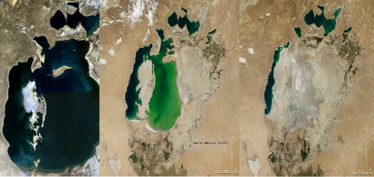 How the Driest Regions on the Planet Add to Sea Level Rise