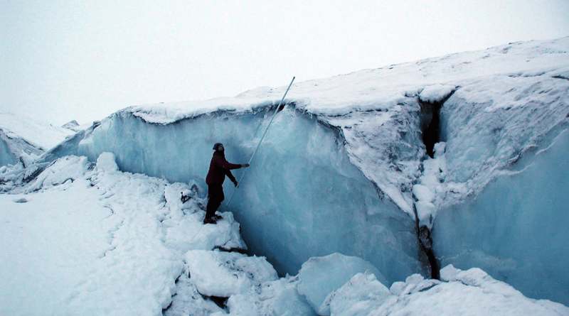 When Geological Processes Collide– Exploring the Link Between Earthquakes and Glaciers