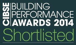 CIBSE Shortlisted entrant 2014