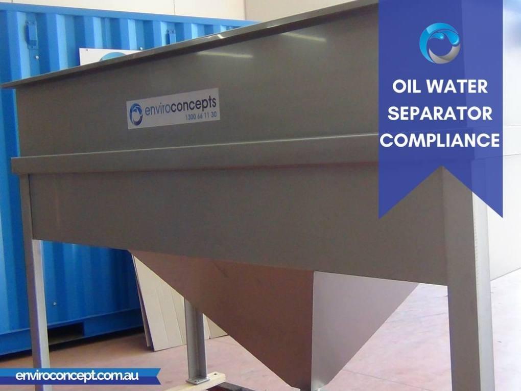 Enviro H2O, oil water separator