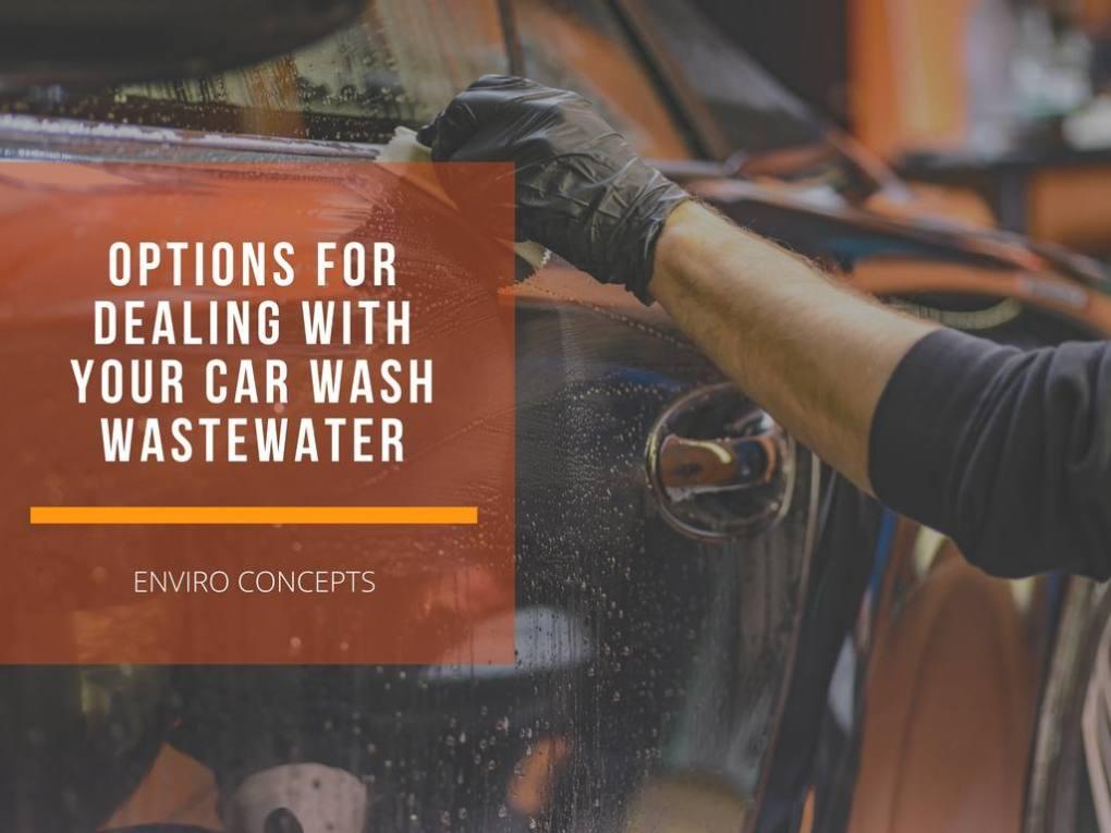 car wash, wastewater, enviro concepts