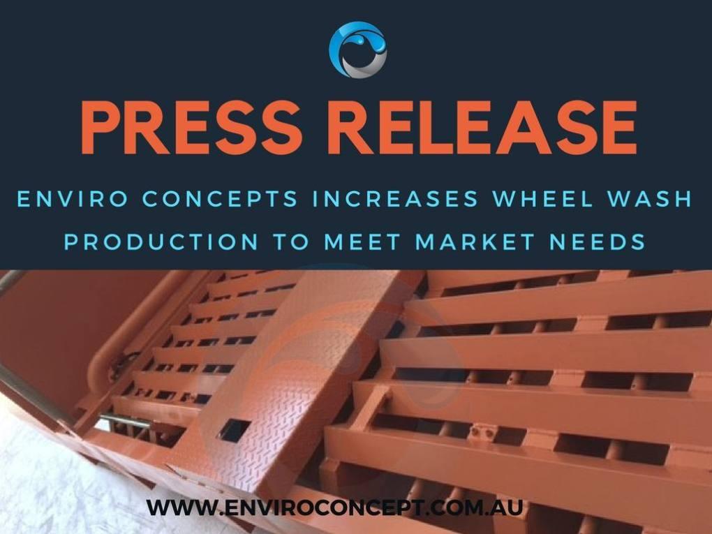 Wheel wash, enviro concepts, wastewater