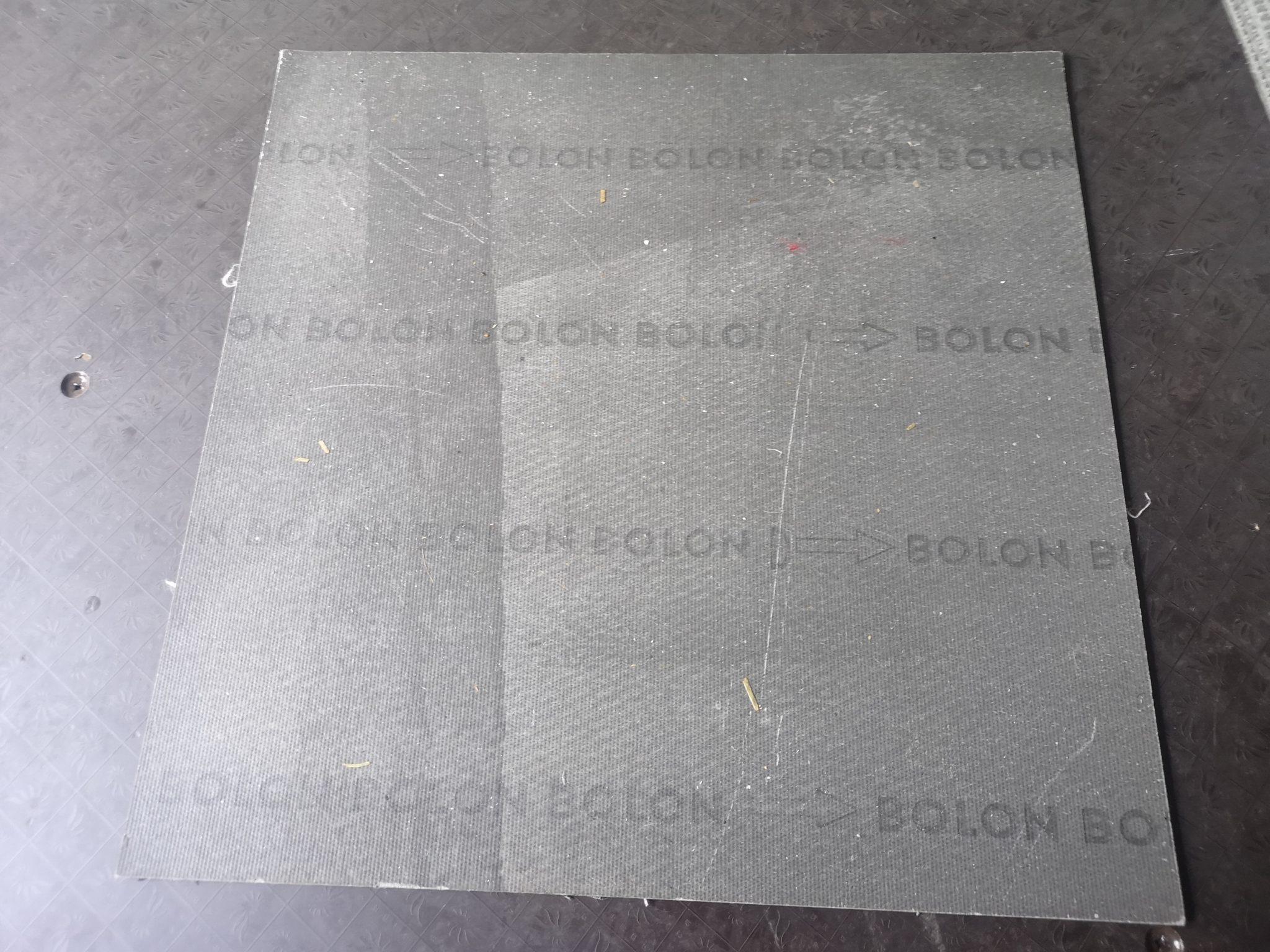 50 X Grey Bolon London Woven Vinyl Floor Tiles 163 0 25 Each