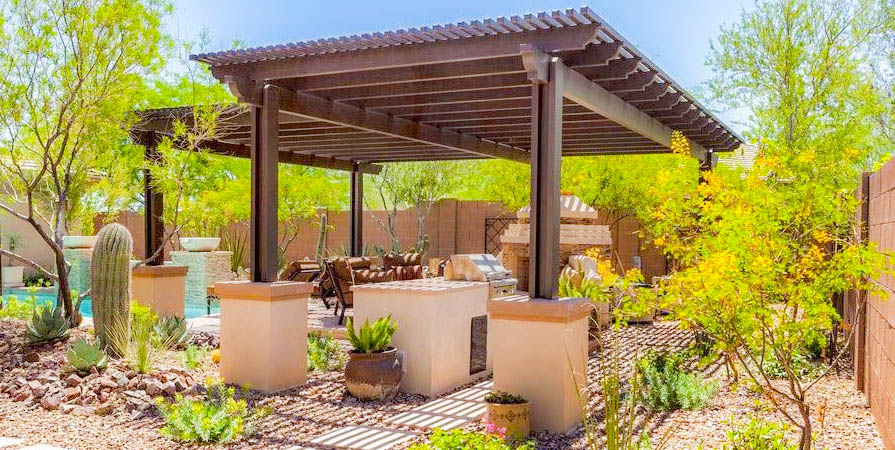 Desert Landscapes | Installations | Phoenix | Scottsdale ... on Desert Landscape Ideas For Backyards id=80331