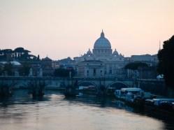 Tevere River, Rome, Italy
