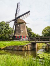 Dutch Windmill, Edam, Netherlands