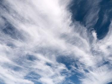 Joyous clouds over the Rapids, Wellington National Park