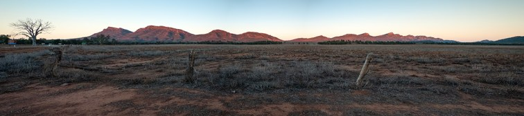Sunrise over the Flinders Ranges, South Australia