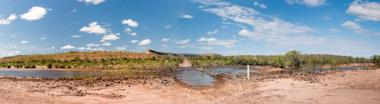 Pentacost River Crossing at the Cockburn Ranges, Kimberleys, Western Australia