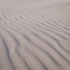 Patterns in the sand at Tallows Beach, Arakwal National Park