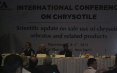 Press Conference on Hazards of Asbestos, Delhi, December 2013
